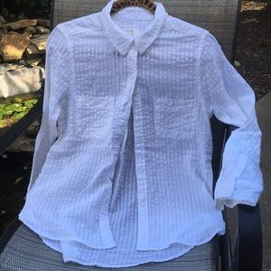 White blouse by Mudd nwot